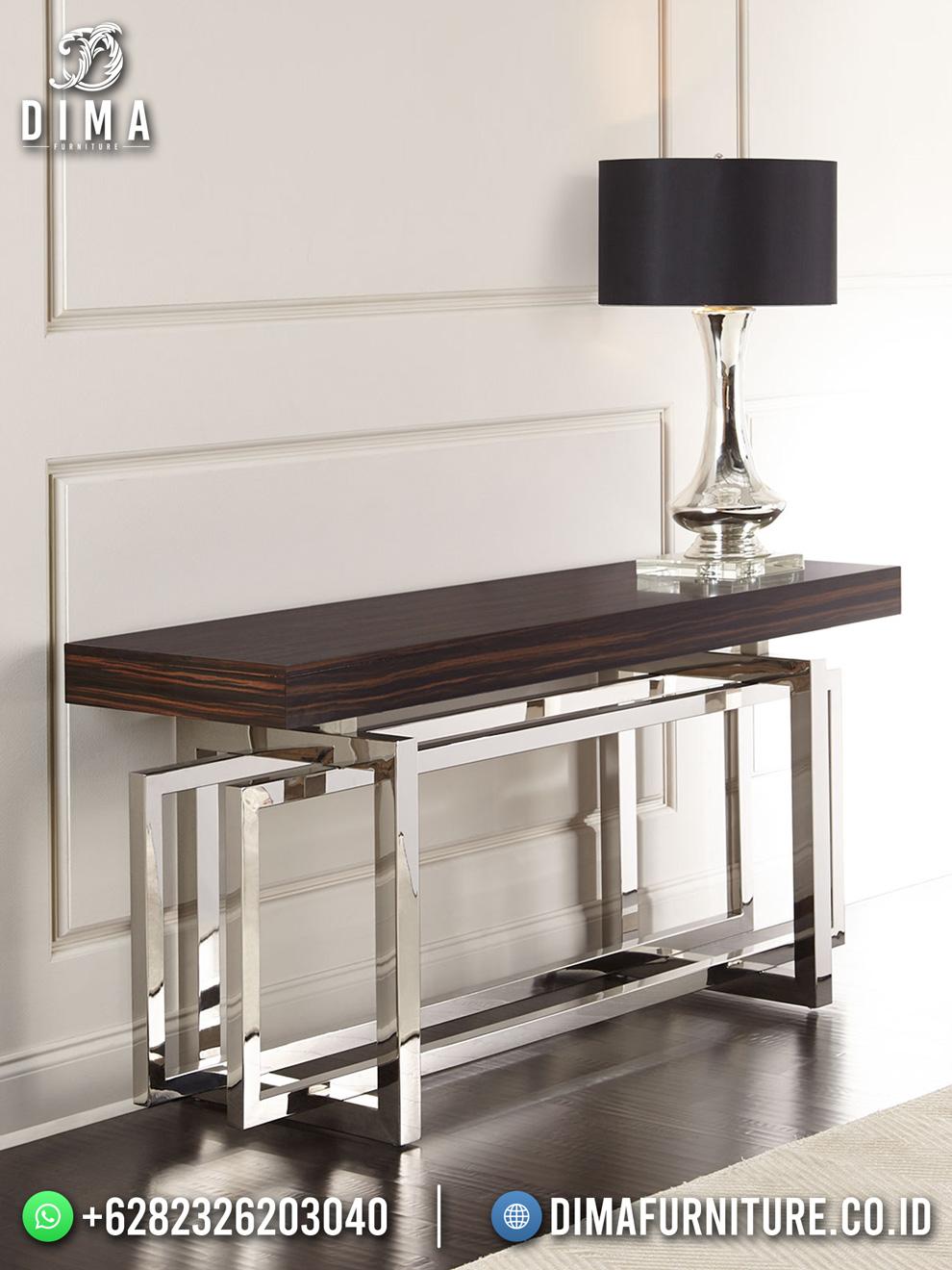 New Design Meja Konsul Minimalis Elegant Industrial Furniture TTJ-1807