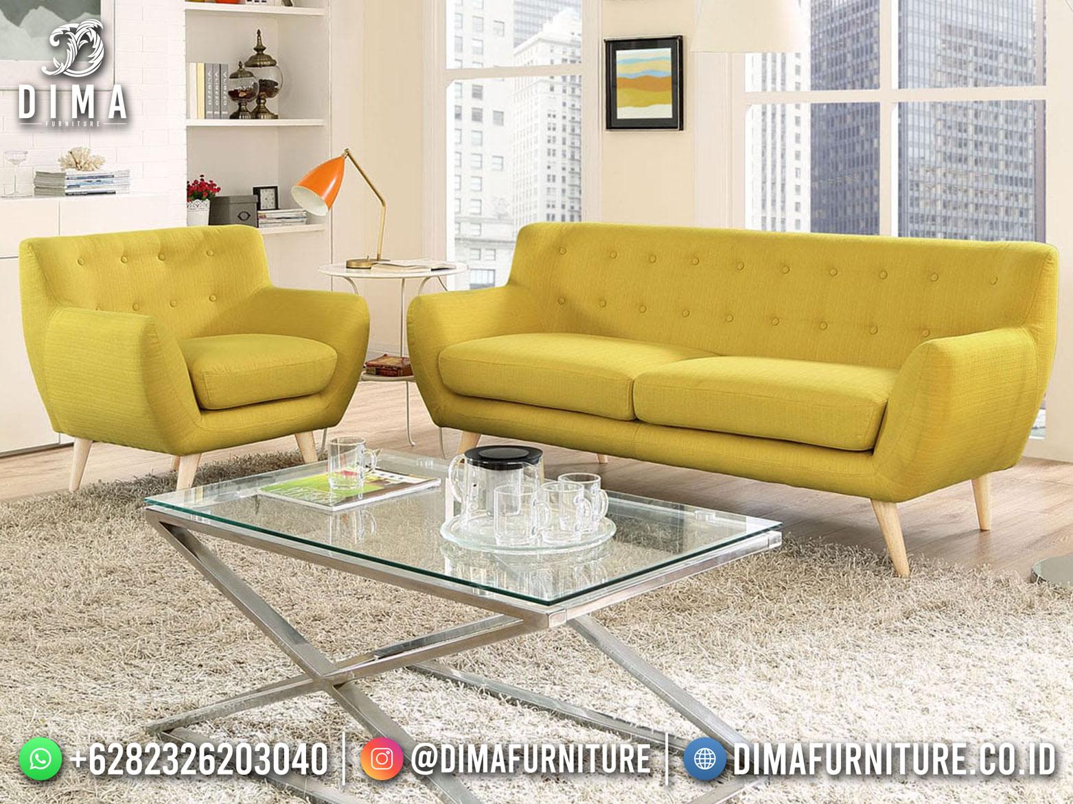 New Style Sofa Tamu Minimalis Excellent Lemonade TTJ-1779