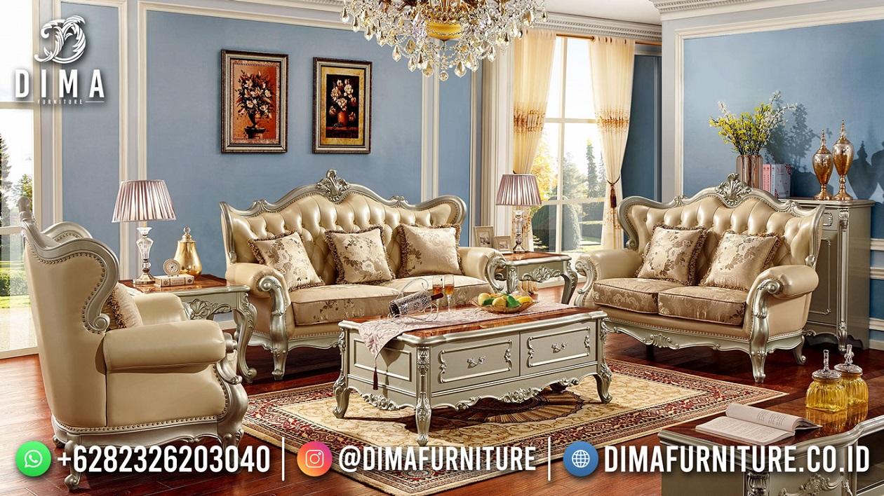 Sofa Tamu Mewah Klasik Jepara Exclusive Design Good Price TTJ-1857