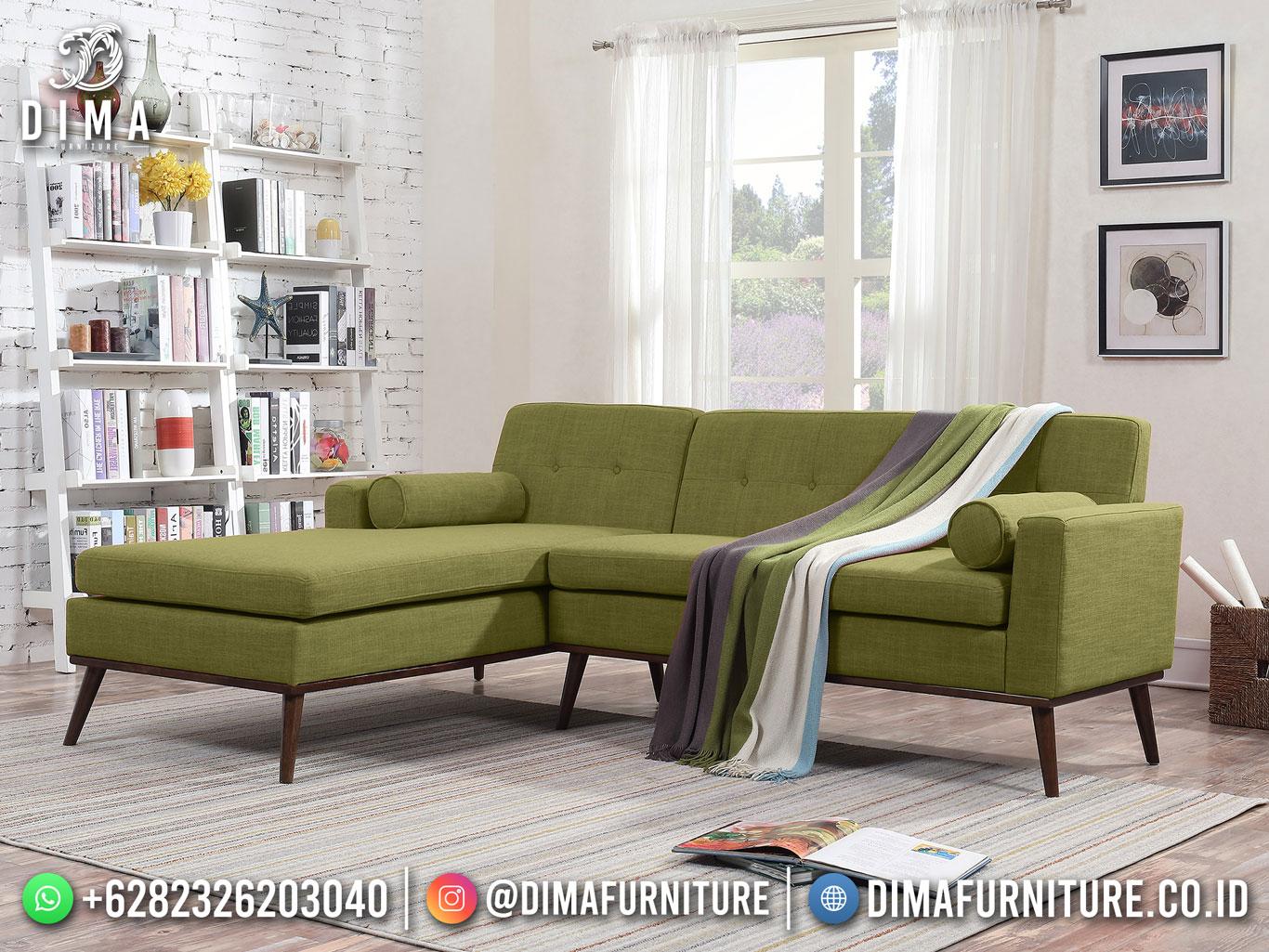 The Great living Room Sofa Tamu Minimalis Natural jati Perhutani TTJ-1788