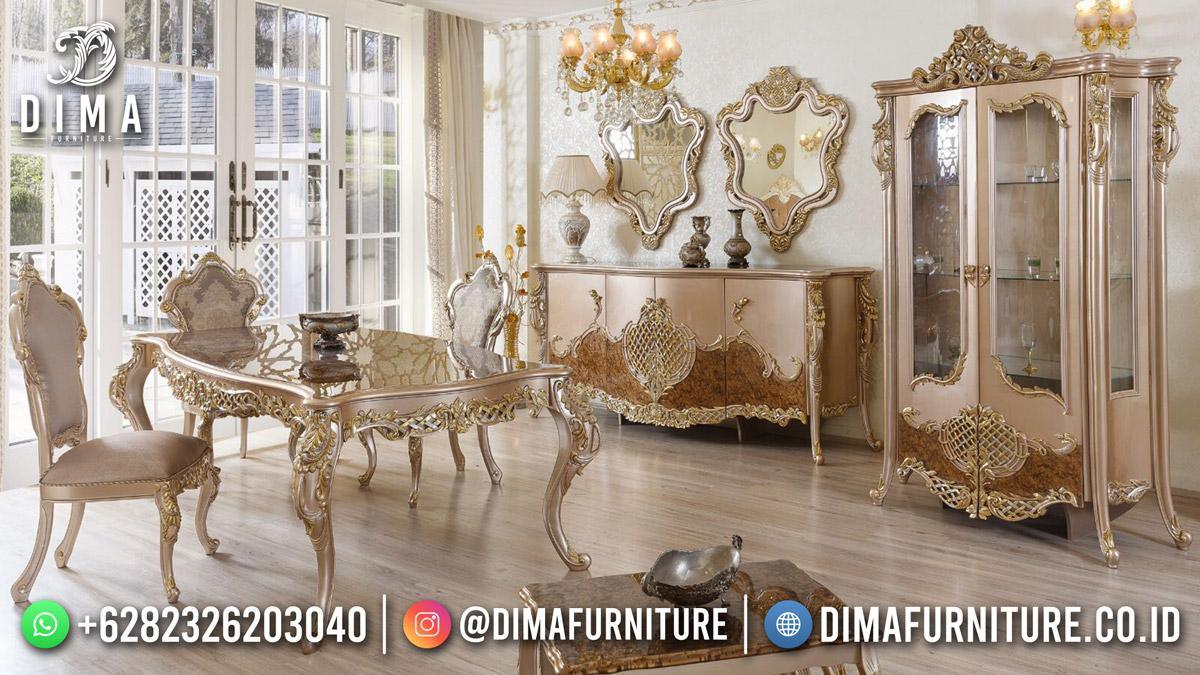 Amazing Beauty Carving Meja Makan Mewah Best Sale TTJ-1896
