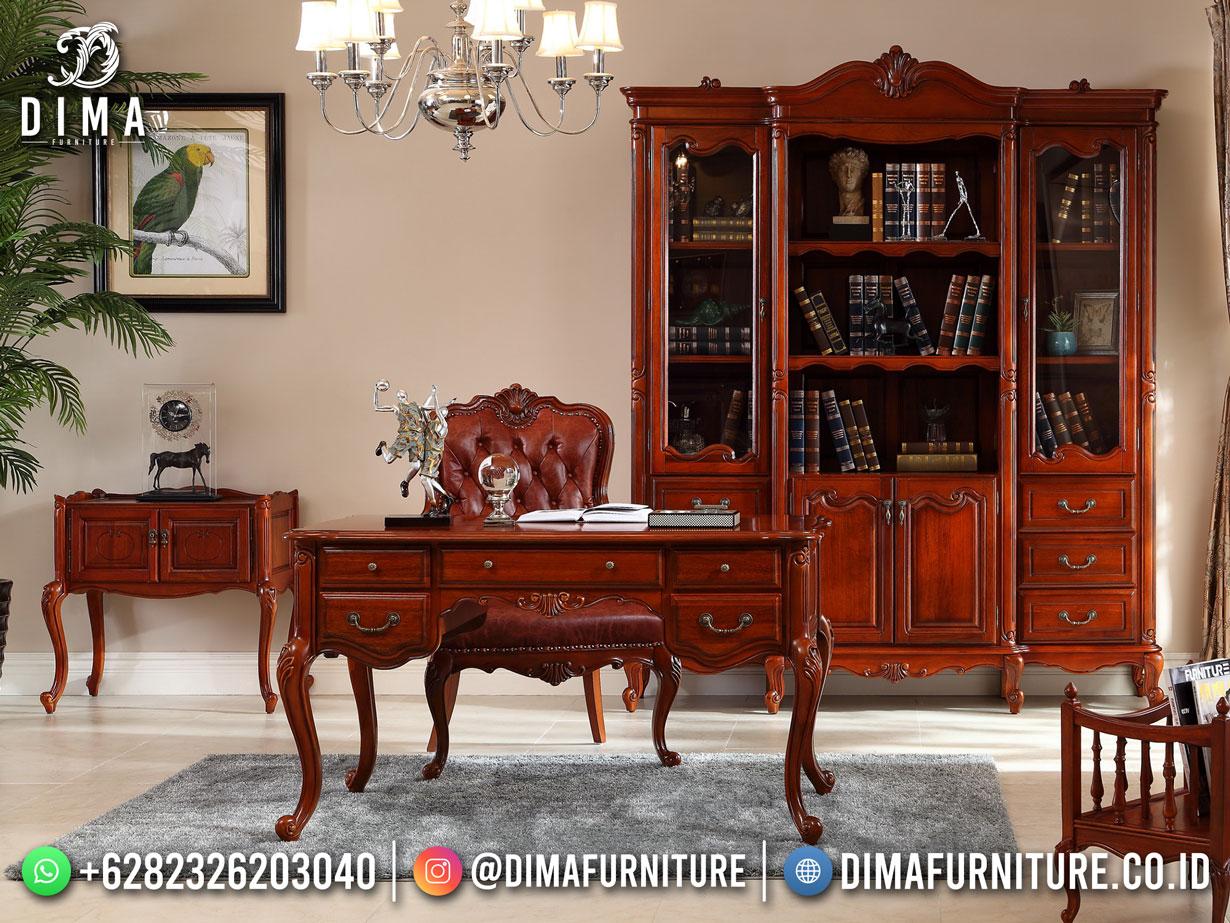 Best Furniture Meja Kerja Jepara Modern Elegant Klasik Modern TTJ-1882