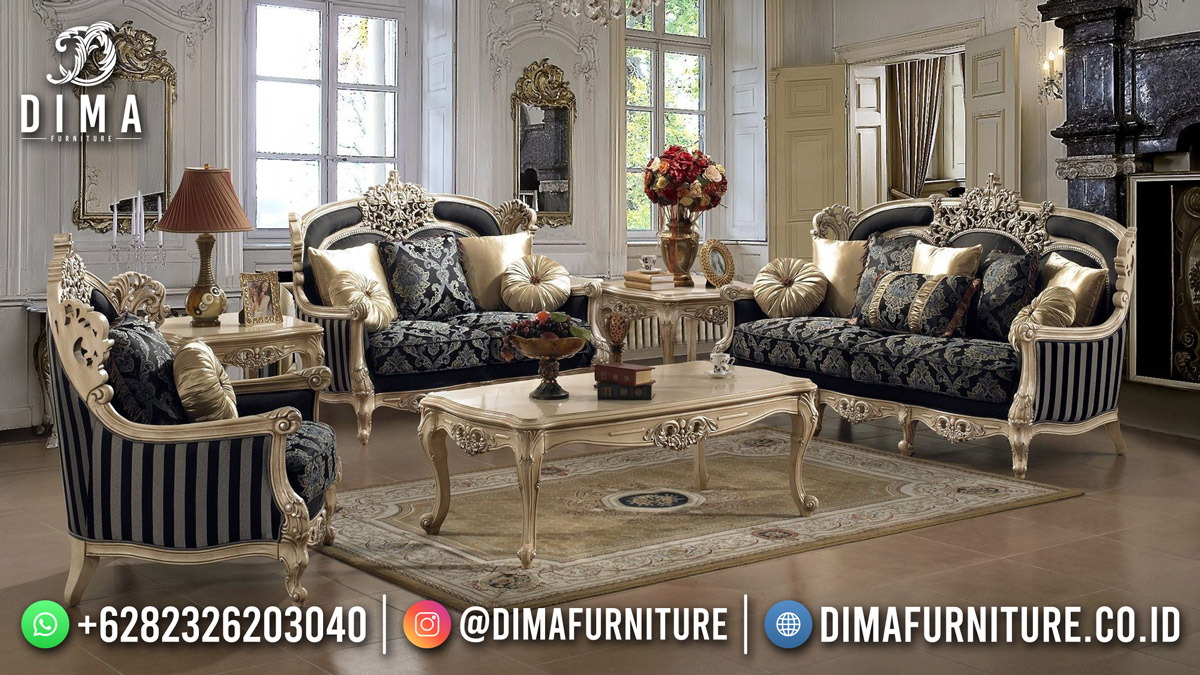 Diskon Sofa Tamu Terbaru Beauty Vintage Modern Elegant Design TTJ-1939