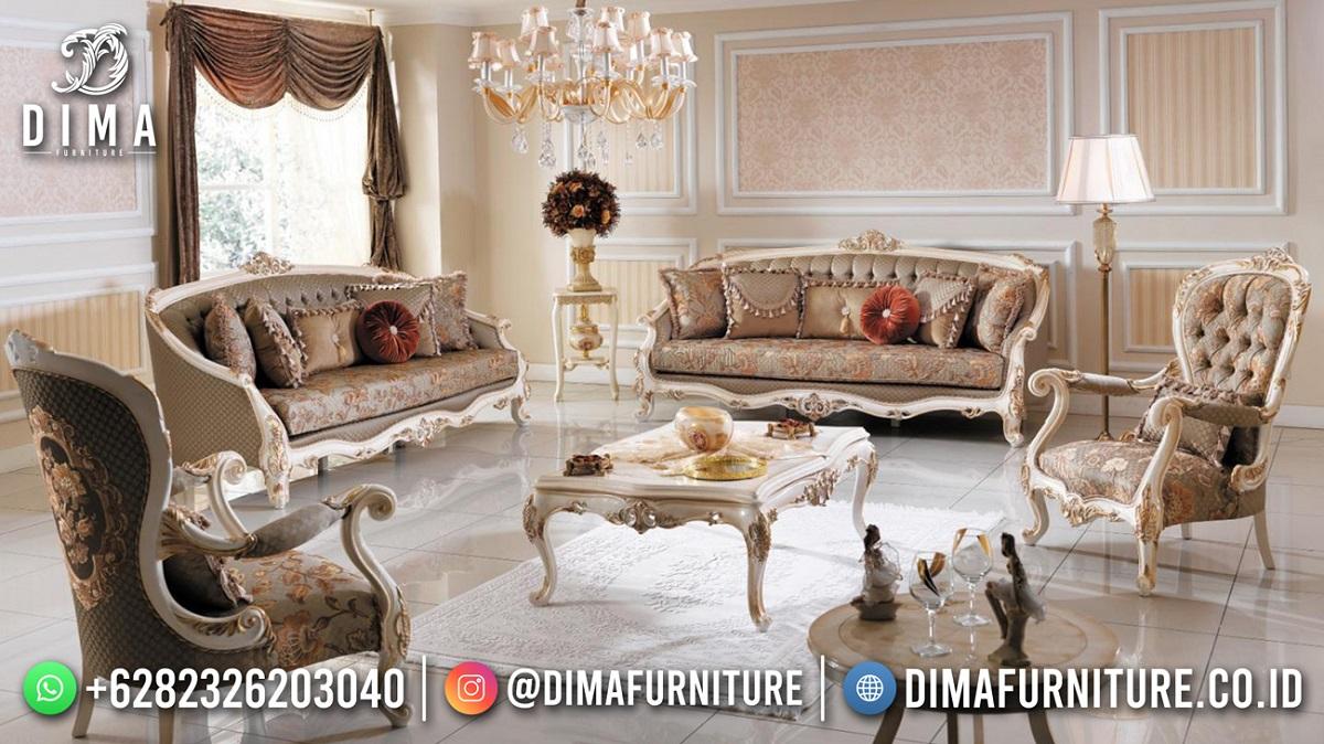 Terpopuler Kursi Tamu Terbaru Jepara Classy Elegant Furniture TTJ-1911