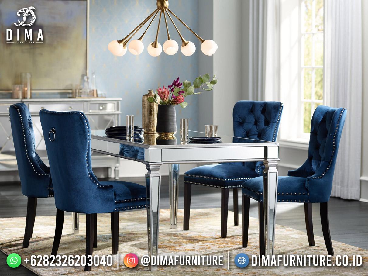 Exclusive Style Meja Makan Minimalis Modern Best Quality Furniture TTJ-1989