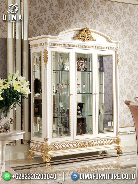 Luxury Shabby Lemari Hias Terbaru Jepara High Quality TTJ-1954