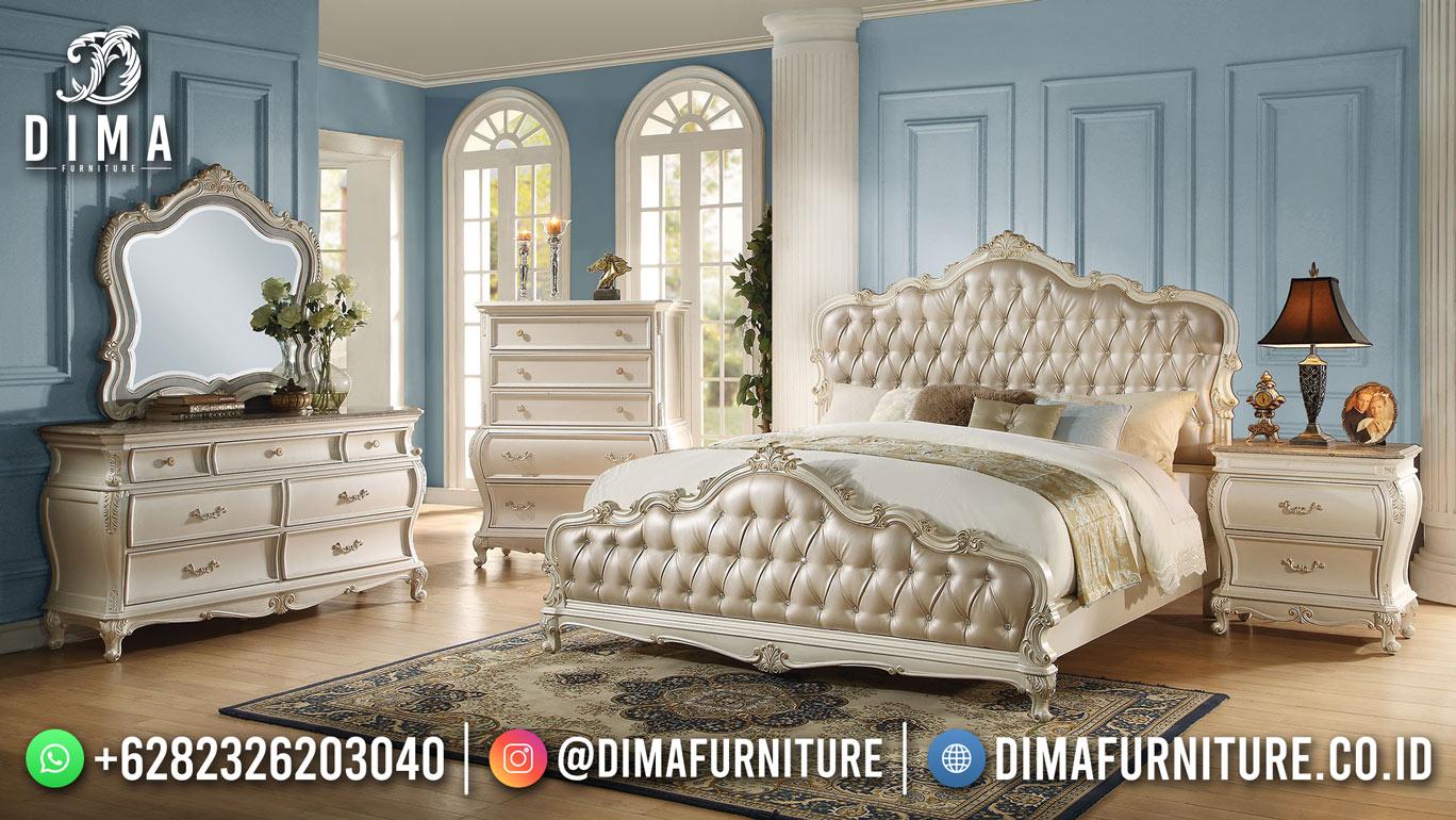 Set Tempat Tidur Jepara Mewah Klasik Duco Best Quality Product TTJ-2007